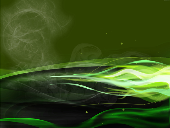 Green Version9 Green Fire Wallpaper