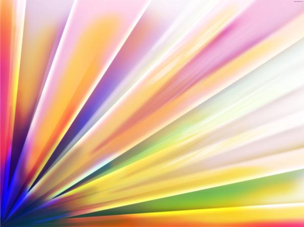colourful background set